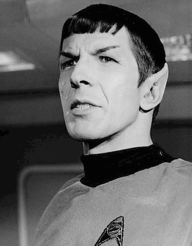 Leonard Nimoy Zitate Mr. Spock